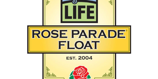 The 'Melody of Life' Donate Life Float at the 130th Rose Parade