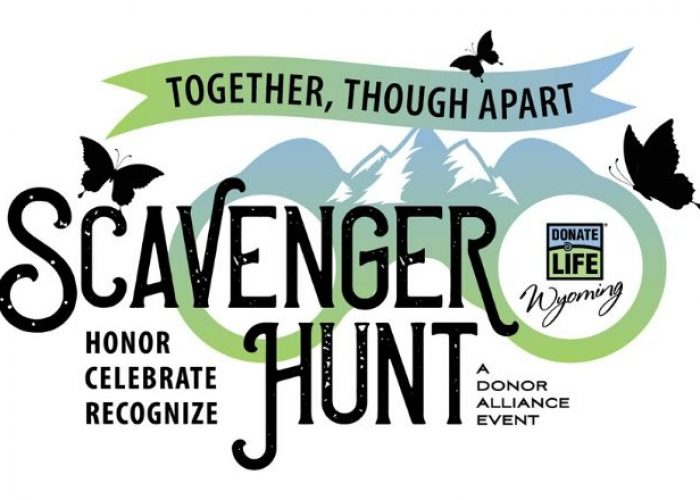 2nd Annual Donate Life Wyoming Scavenger Hunt